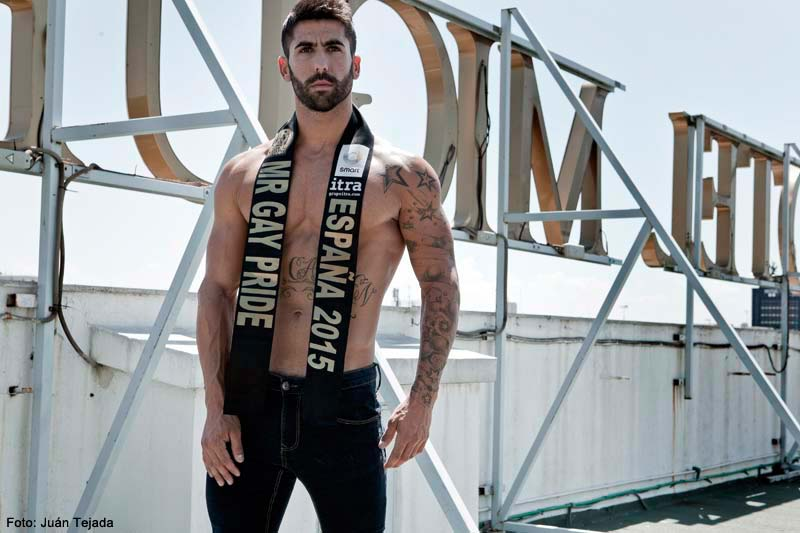 Francisco Pérez – Mr. Gay Pride España 2015