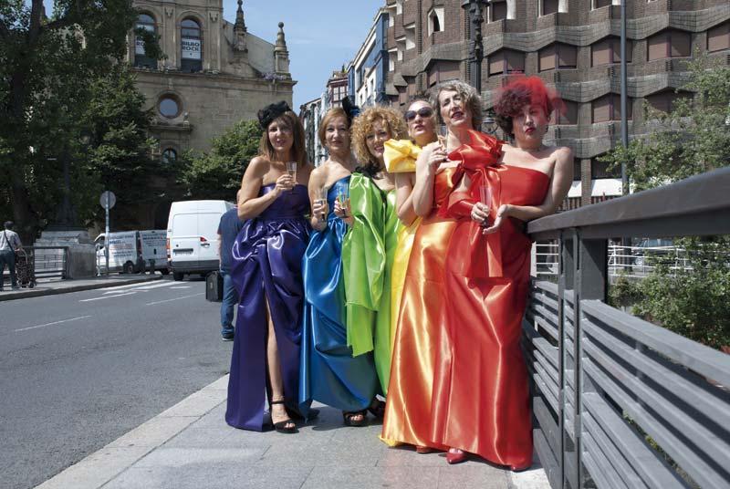 Las Txirenitas, las novias de Bilbao