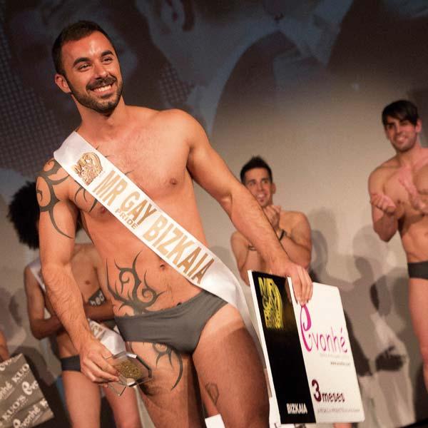 Raúl Cuadrado (Nuevo Mr Gay Bizkaia)