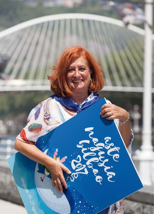 Itziar Urtasun – Concejala Delegada del área de Igualdad, Cooperación, Convivencia y Fiestas