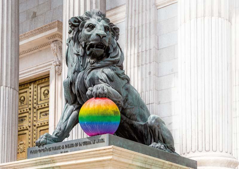 La Ley LGTBI sobre la mesa del Congreso