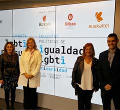 Bilbao, sede del 1 Encuentro de Políticas de Igualdad LGTBI