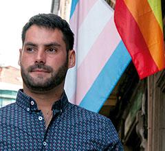 Aratz Castro, Coordinador del Bilbao Bizkaia Pride