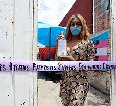 Mujeres transexuales abren comedor comunitario durante la pandemia en México