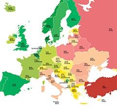 17M. Día Internacional contra la LGBTfobia – Así está los derechos las personas LGBTIQ en Europa