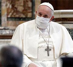 El papa Francisco «bendice» las uniones civiles homosexuales