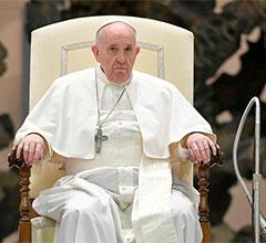 El Vaticano se retracta de las declaraciones del papa sobre el matrimonio igualitario