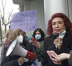 Lidia Falcón y su guerra contra las personas trans